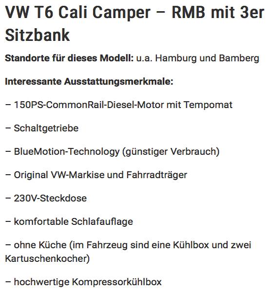 California günstig mieten in  Frankfurt (Main)