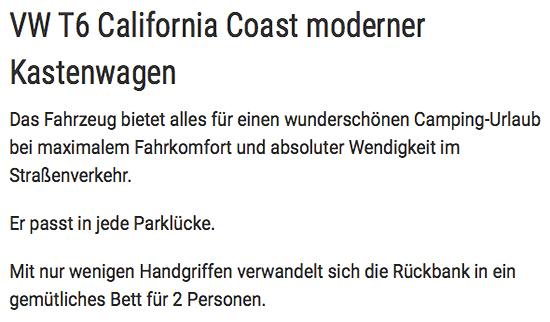 Camping Urlaub für  Mecklenburg-Vorpommern