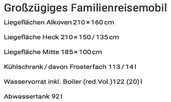Familienreisemobil in 30159 Hannover