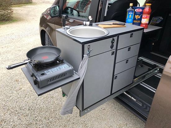 Reisemobil mit Kochfunktion aus  Deutschland