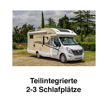 Teilintegrierte Wohnmobile für  Nordrhein-Westfalen