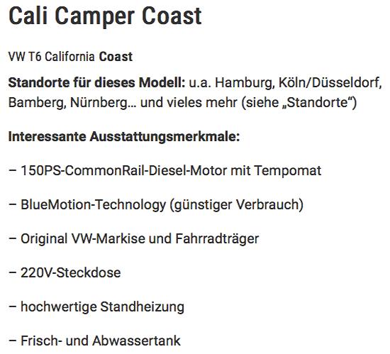 Wohnmobil anschaffen in  Mecklenburg-Vorpommern