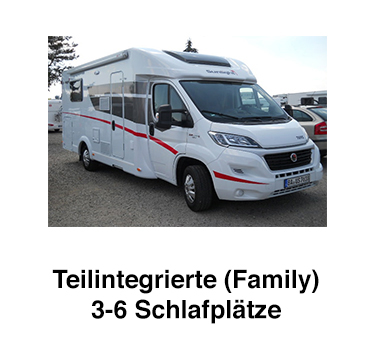 Wohnmobile mit Schlafplätze für  Nordrhein-Westfalen